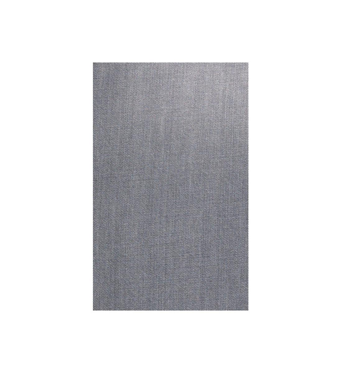 Chemise ajustée en denim gris