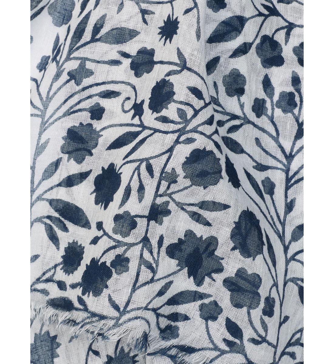 Echarpe fantaisie imprimé floral