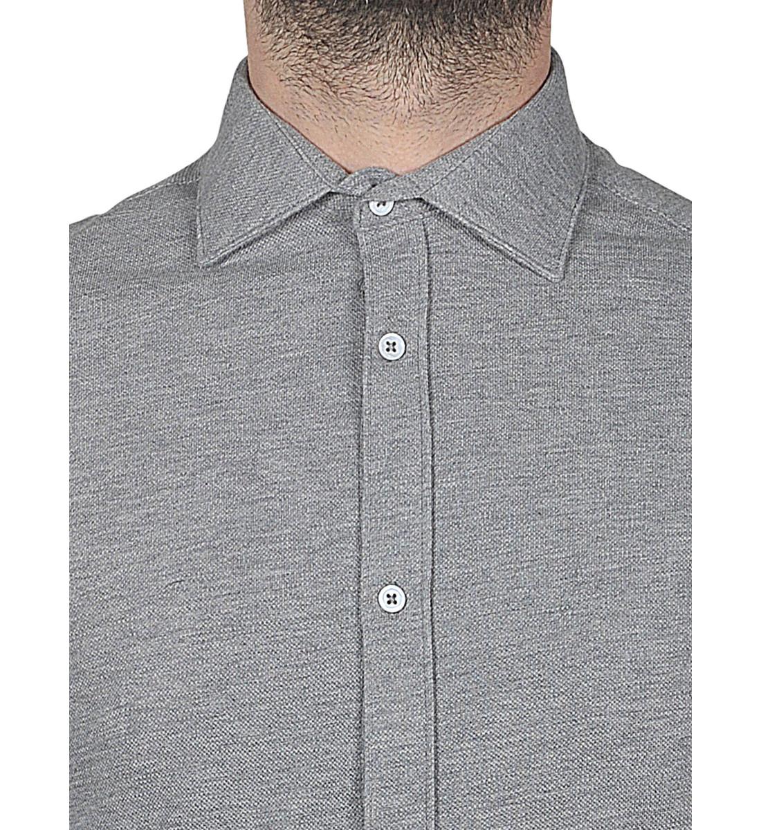 Chemise ajustée MAXIMILIEN gris