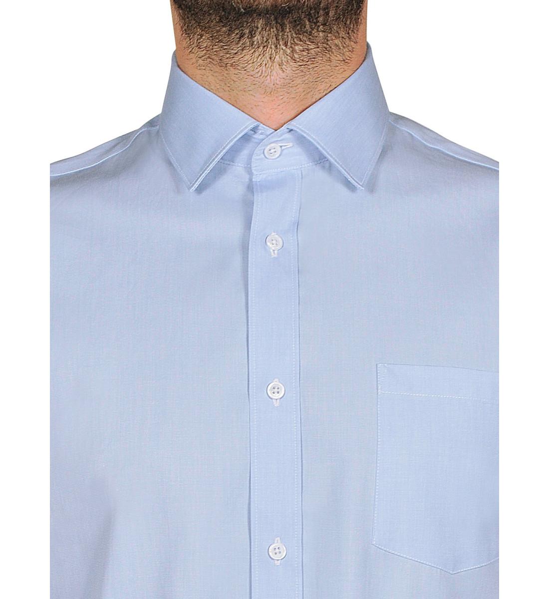 chemise ajustée JAIMY ciel