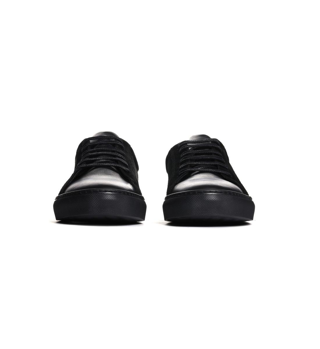 Sneakers basses suede NOIR