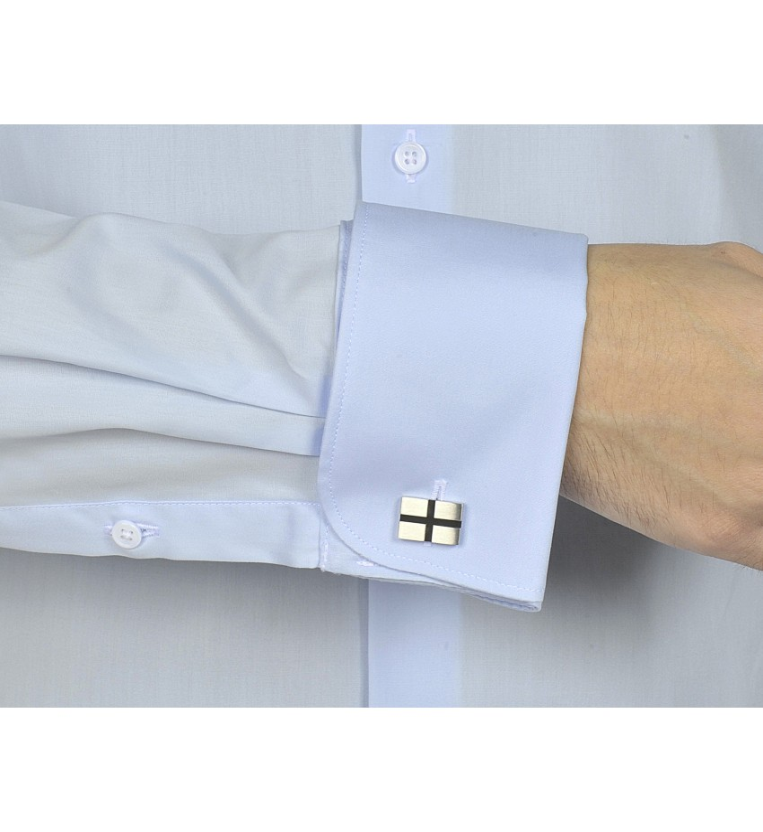 Chemise ajustée poignets mousquetaires CIEL