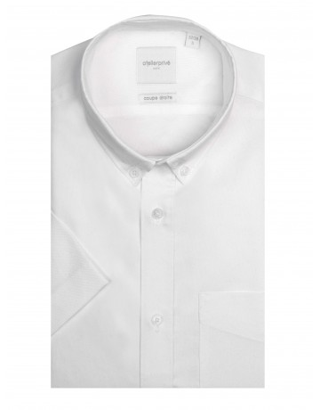 Chemise coupe droite manches courtes NICK