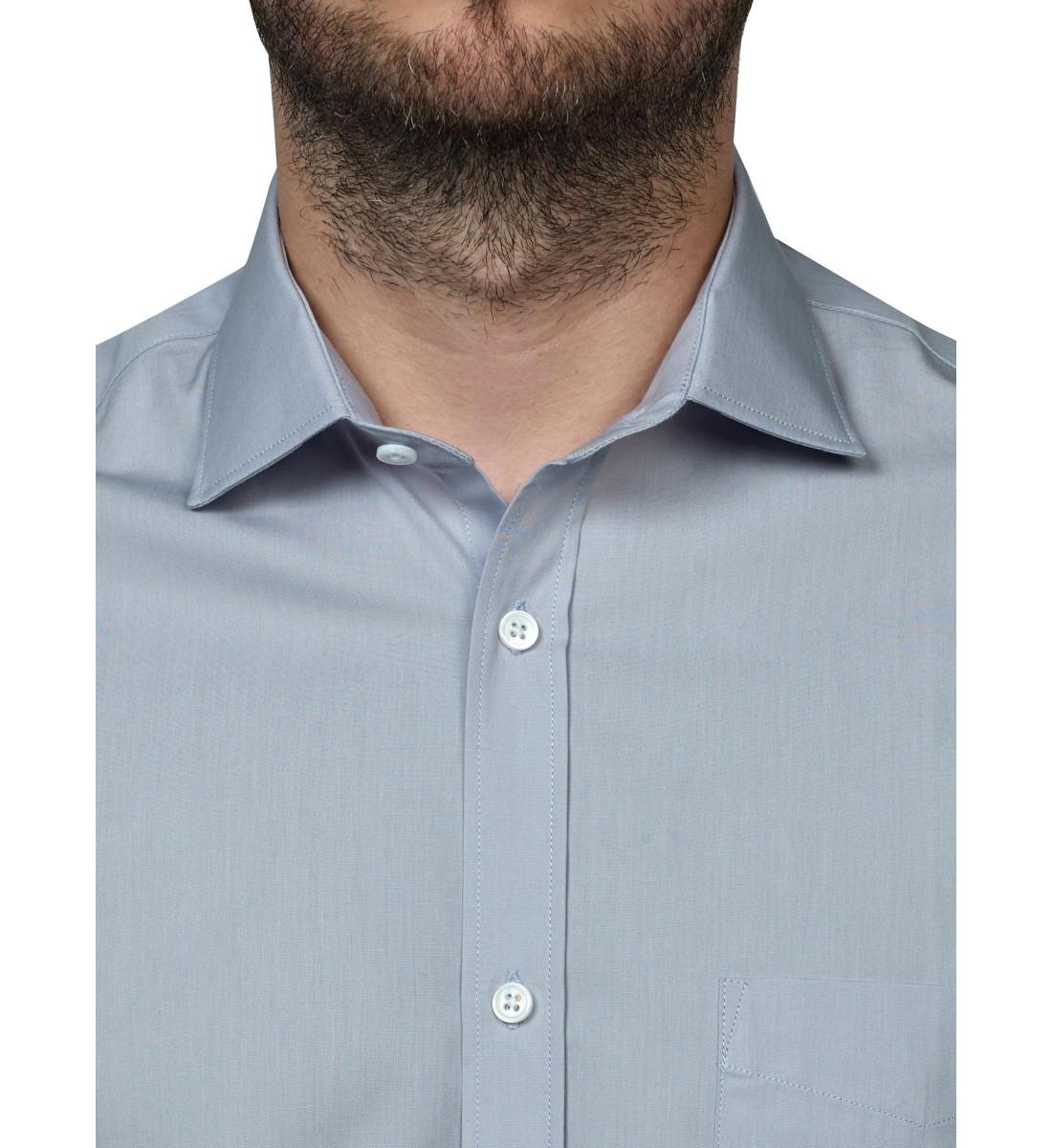 Chemise ajustée NAHYL gris