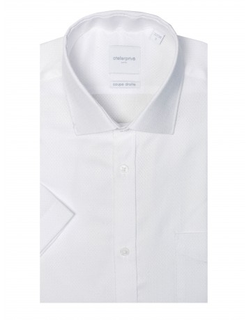 Chemise coupe droite manches courtes NAYL