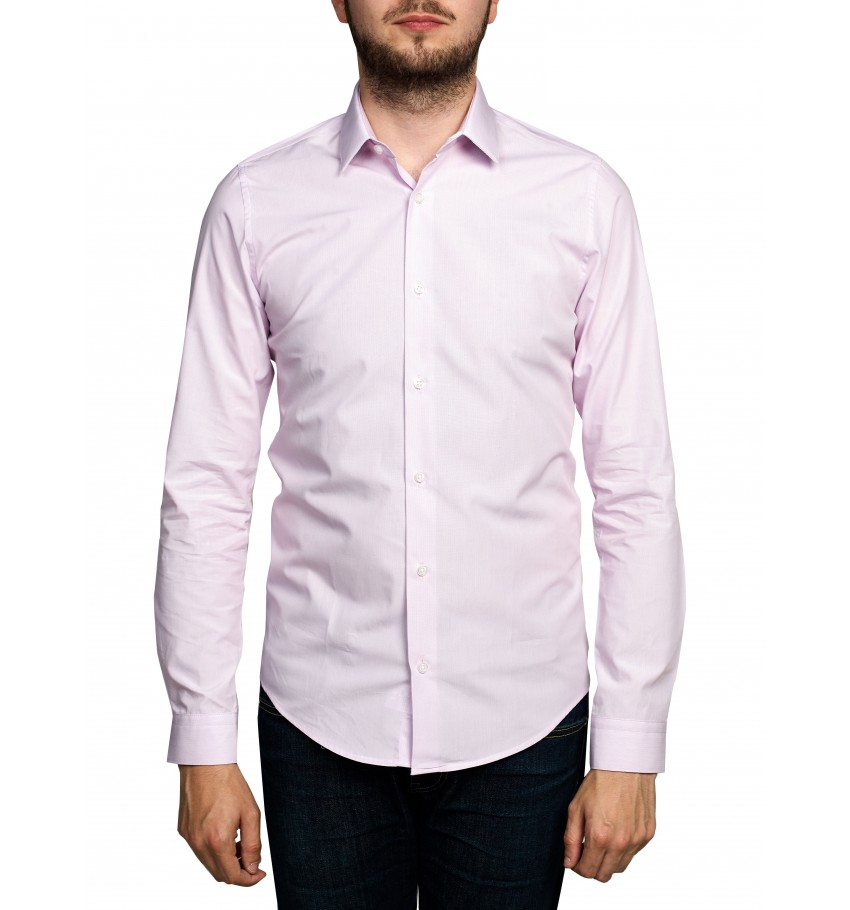 Chemise coupe slim fit Milleraies ROSE