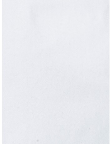 Chemise coupe droite twill BLANC