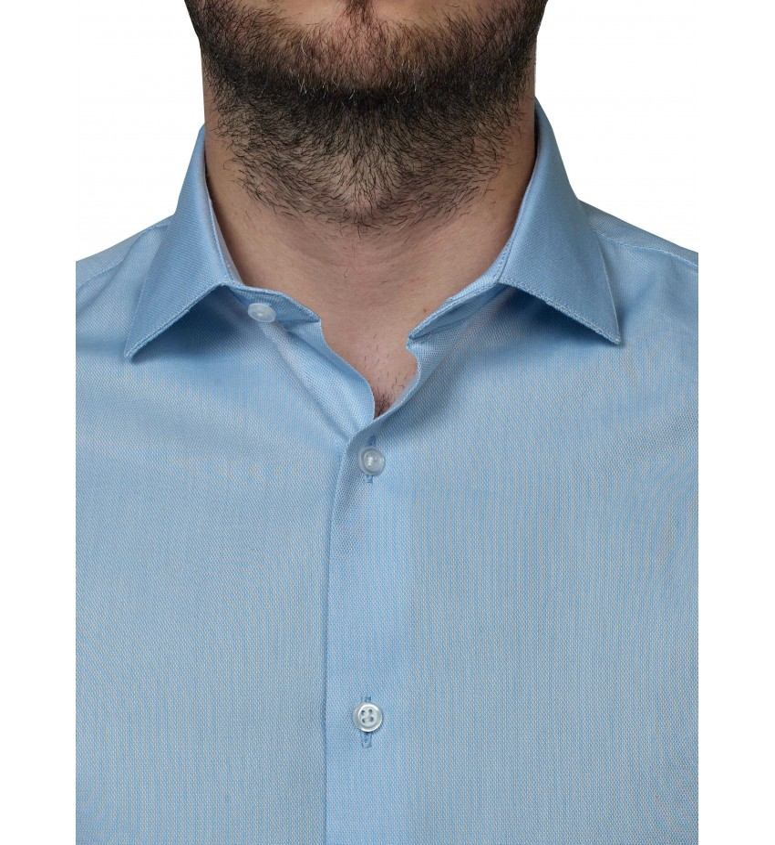 Chemise coupe droite twill CIEL