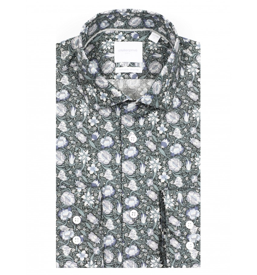Chemise coupe droite Liberty Olympe