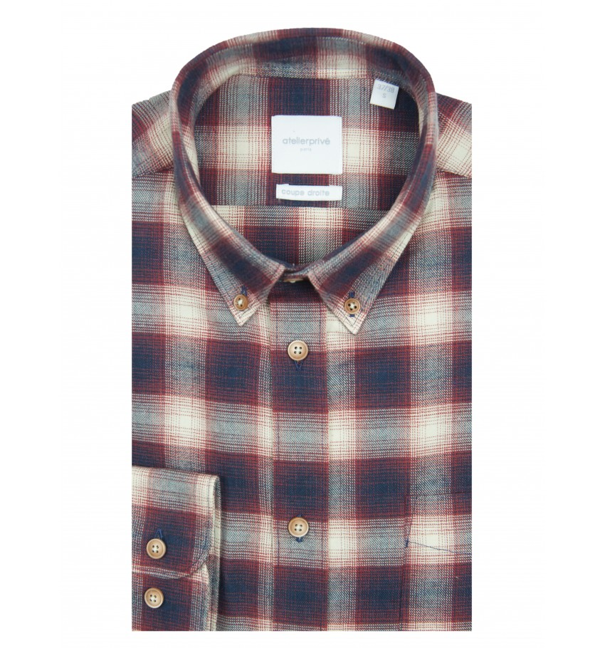 Chemise coupe droite Olaf