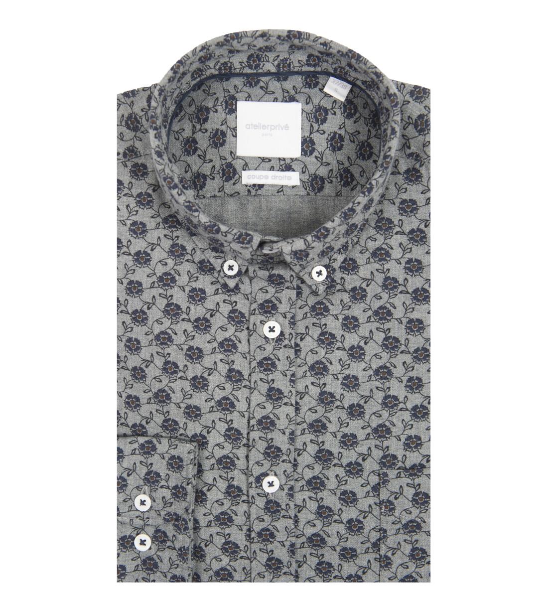Chemise coupe droite Oscar
