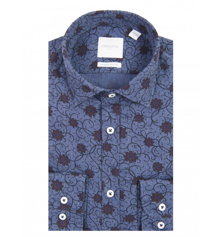 Chemise coupe droite Orlan