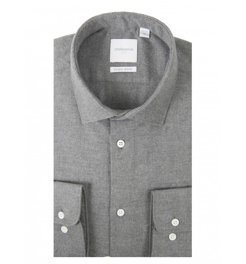 CHEMISE CINTREE OYO ANTHRACITE