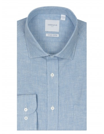 Chemise coupe droite PHARELL CIEL