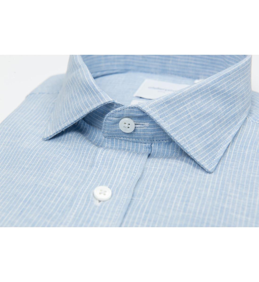 Chemise coupe droite PHARELL CIEL
