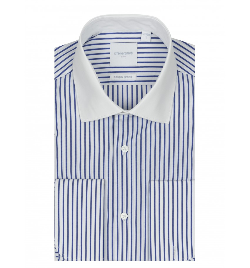 Chemise coupe droite PEAKY