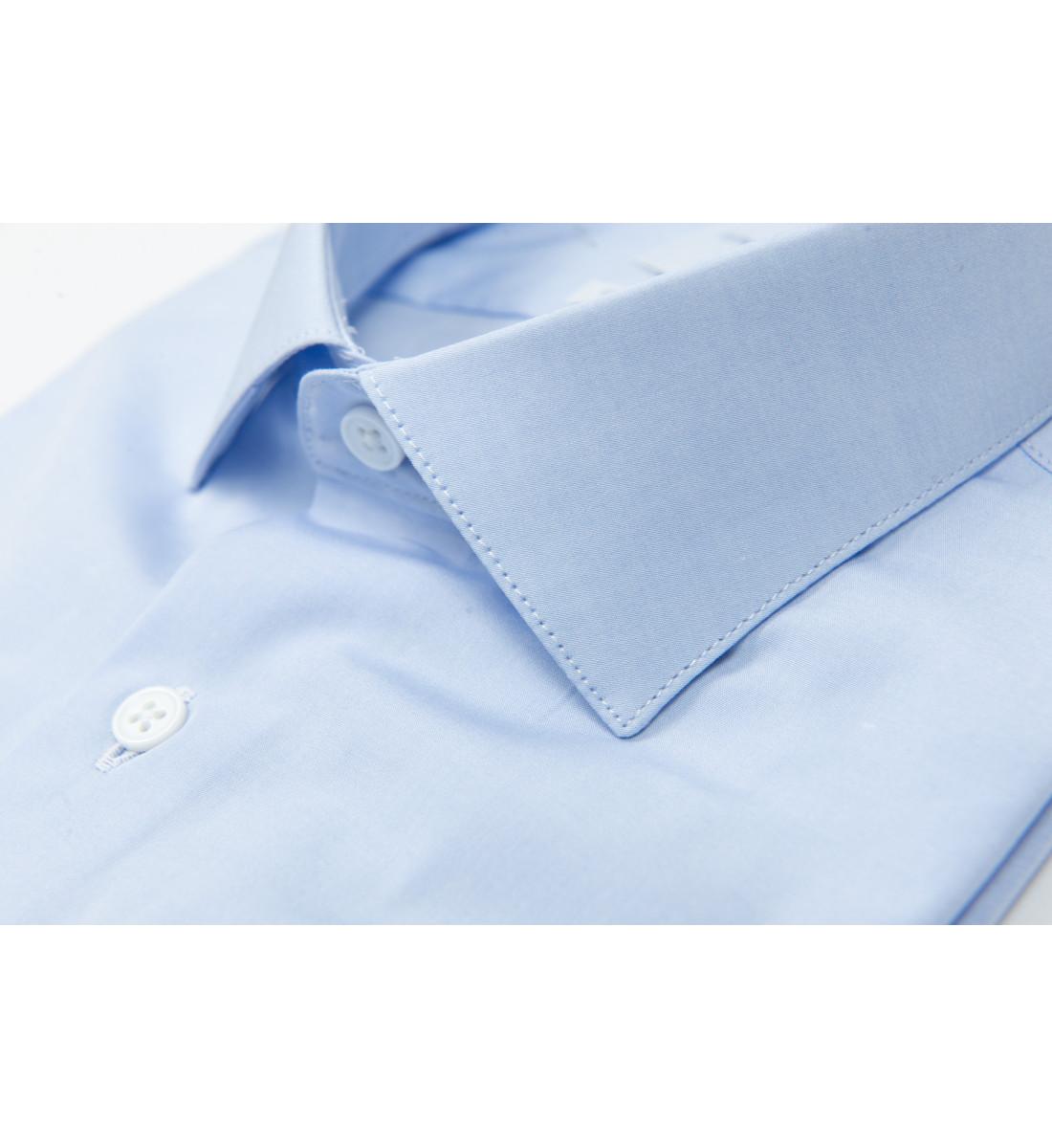 Chemise ajustée petit col italien CIEL