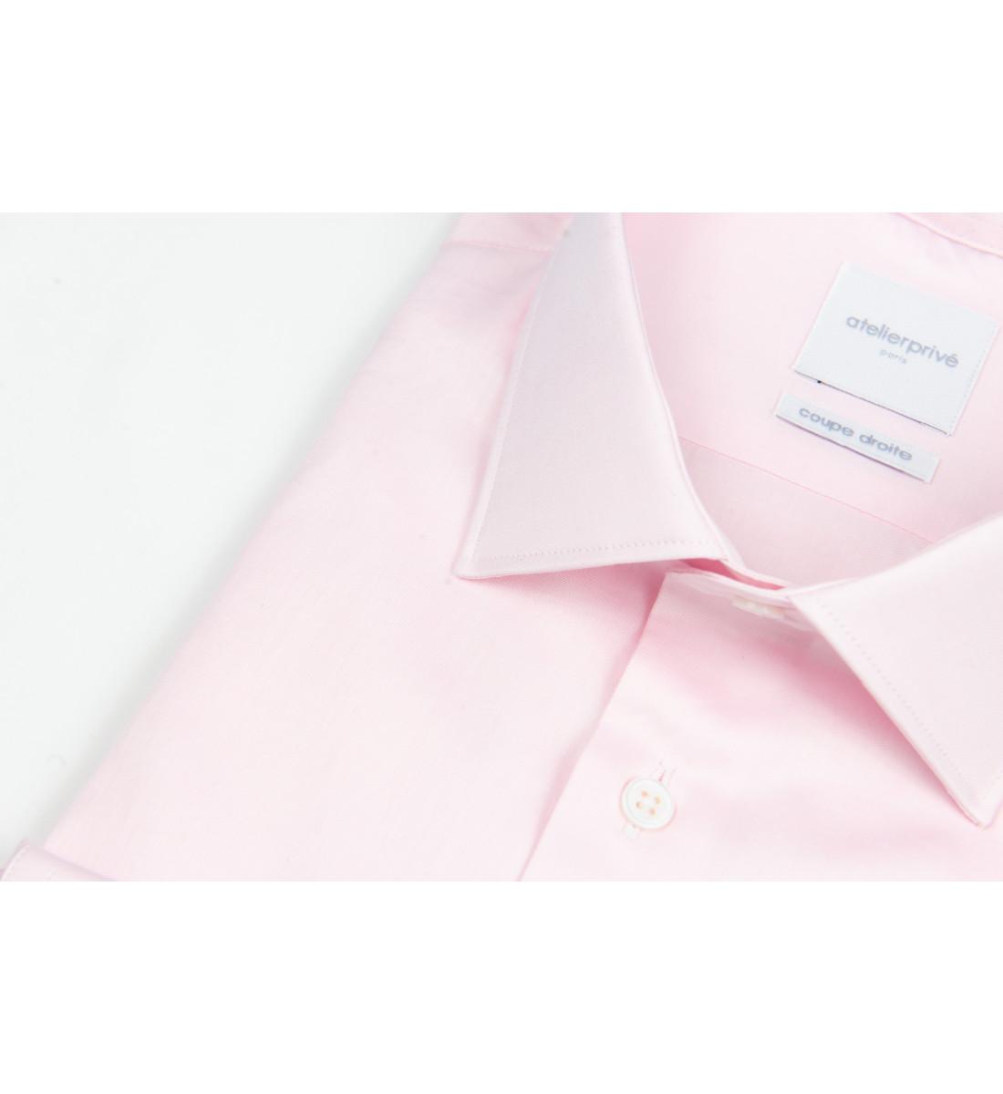 Chemise ajustée mini twill ROSE