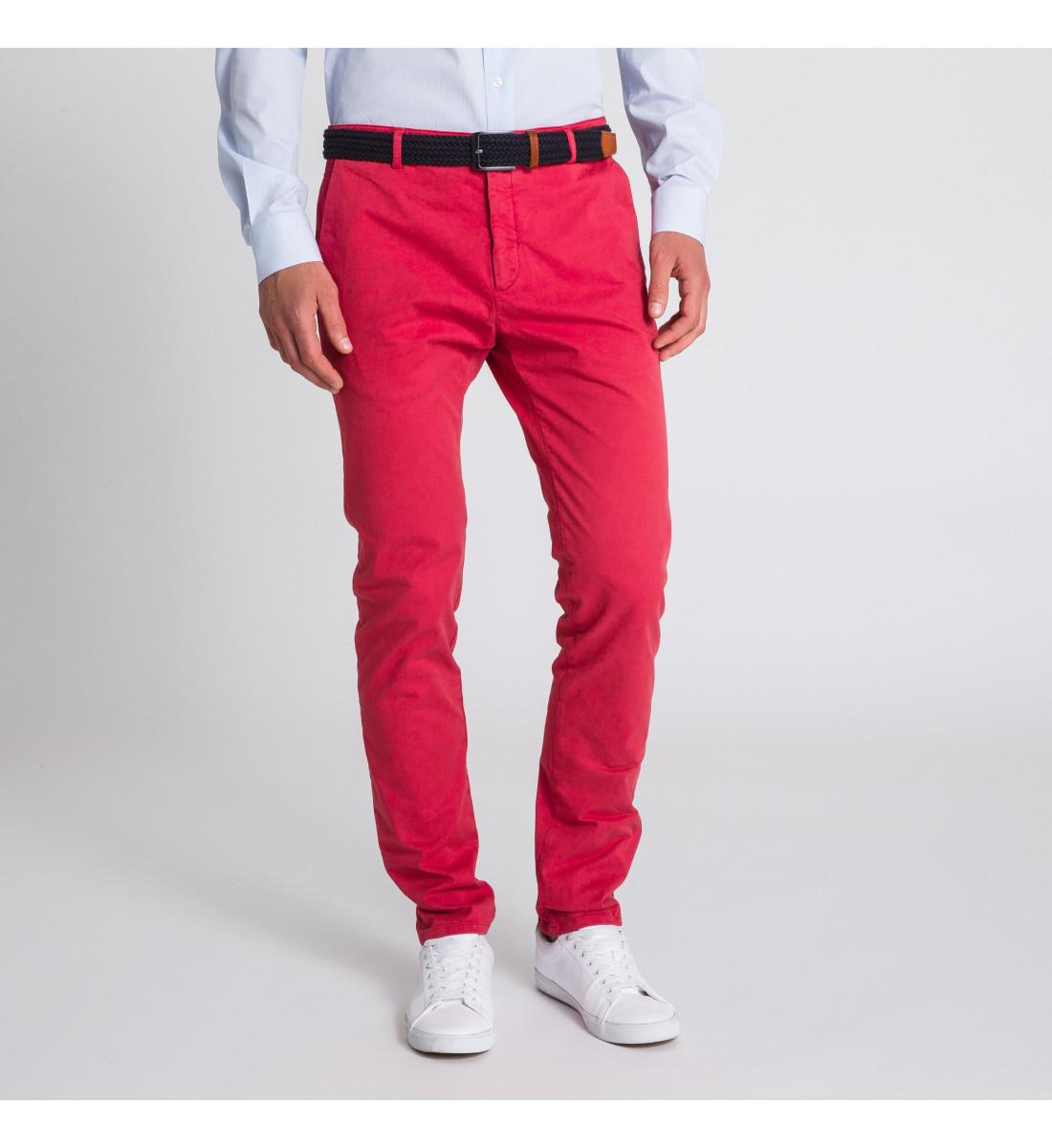 original à chaud bébé haute couture Chino pour homme en rouge