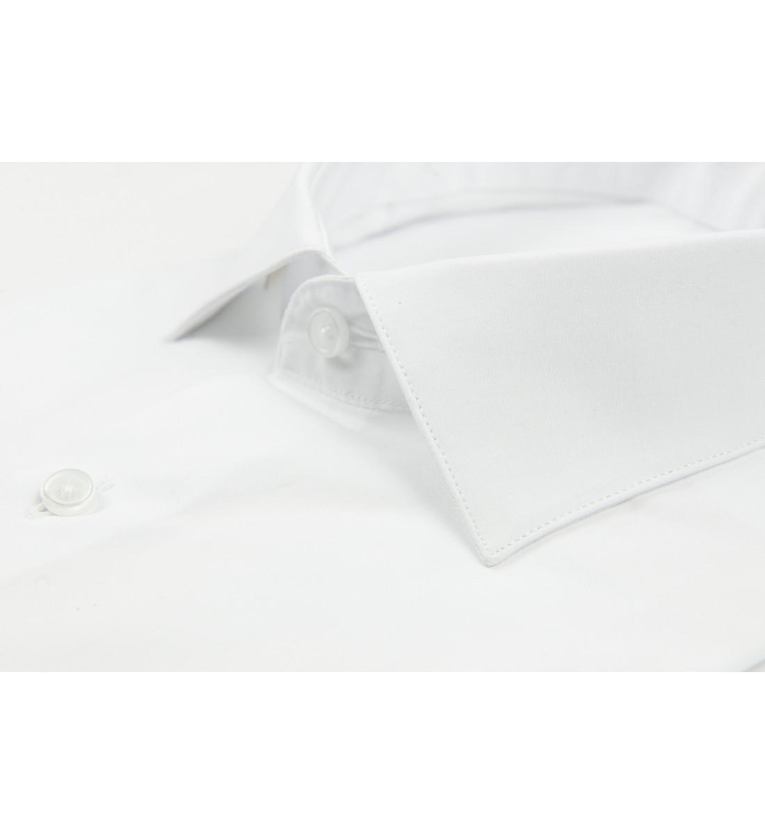 Chemise cintrée JENSON blanc
