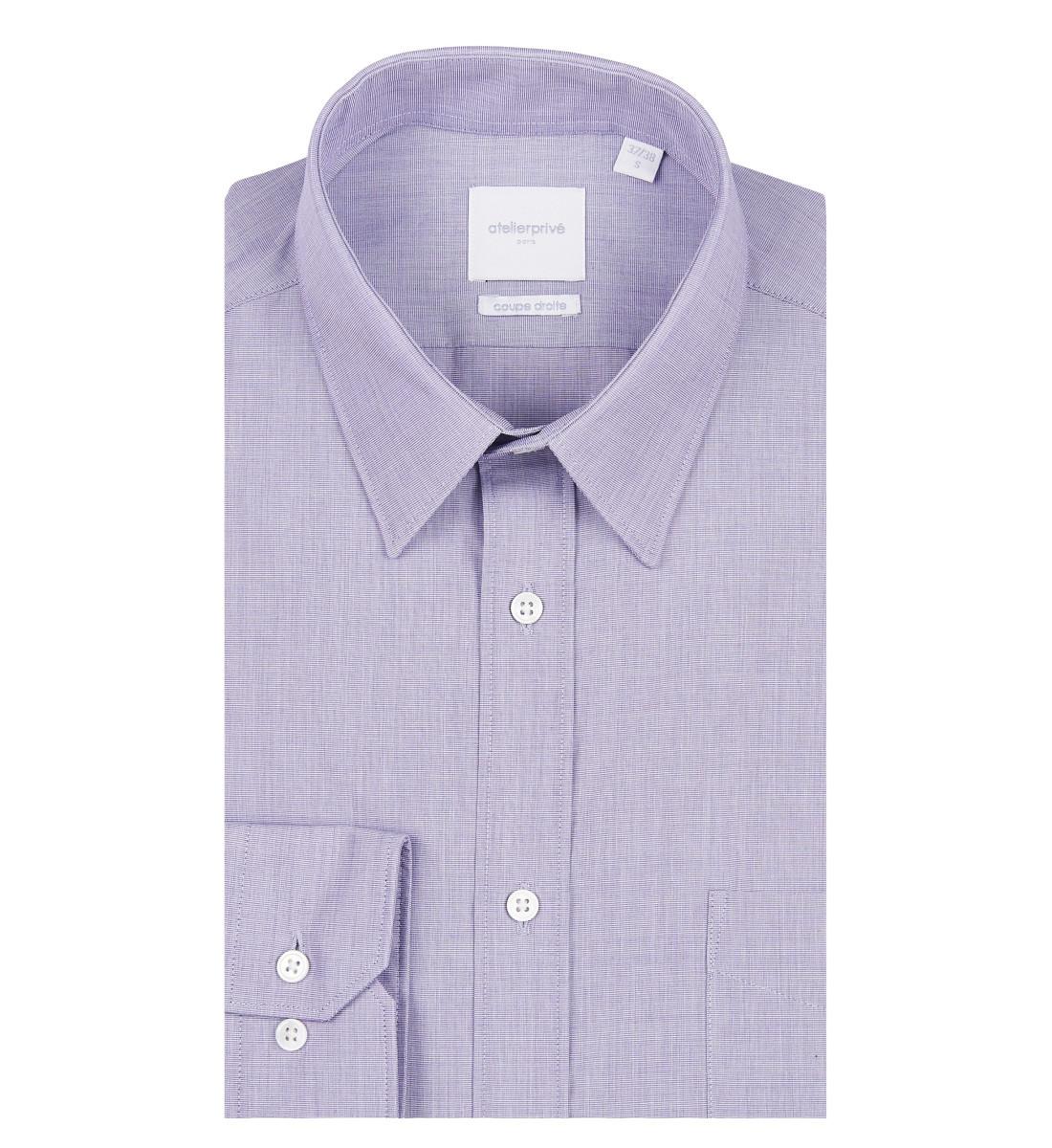 chemise coupe droite fil à fil PARME