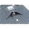 Chemise coupe droite RIKU bleu