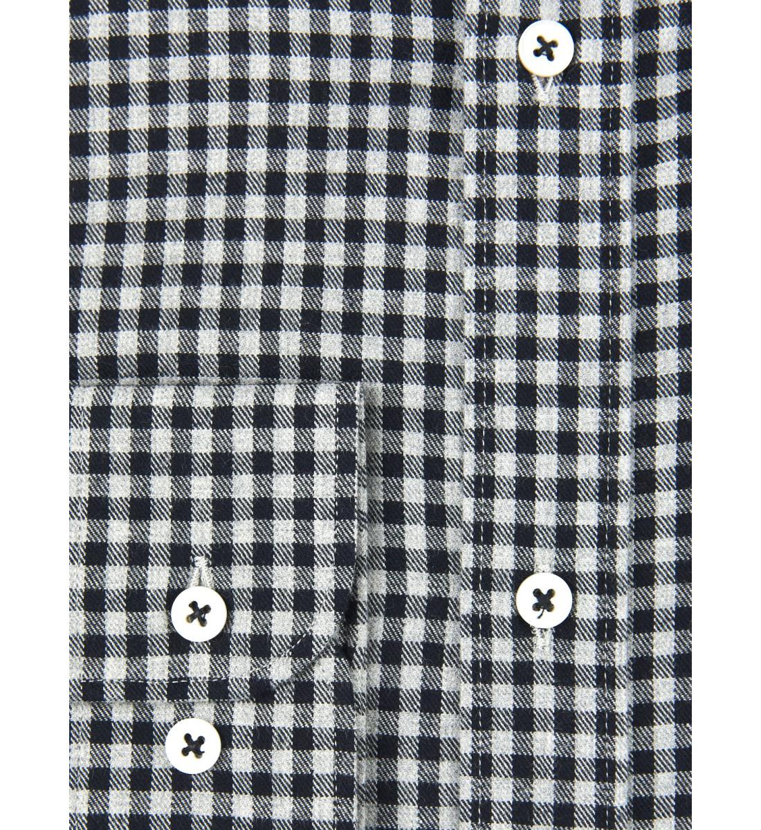 Chemise coupe droite RUFIO noir