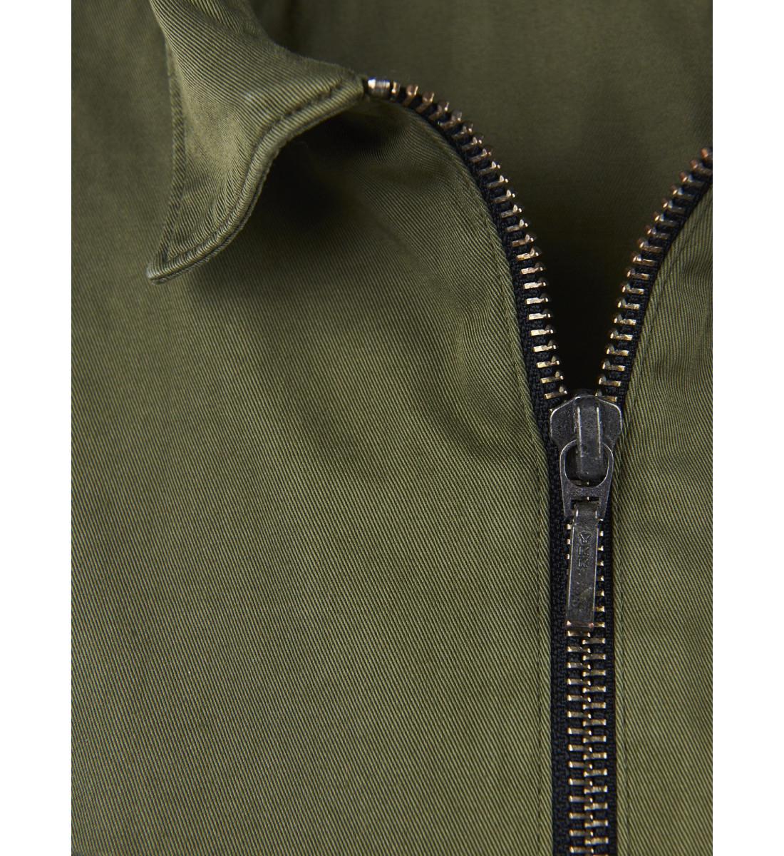 Chemise zippée RAOUL coupe droite