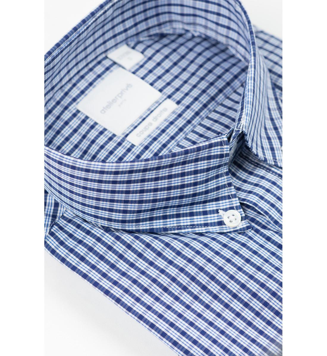 Chemise manches courtes coupe droite SILVESTRE