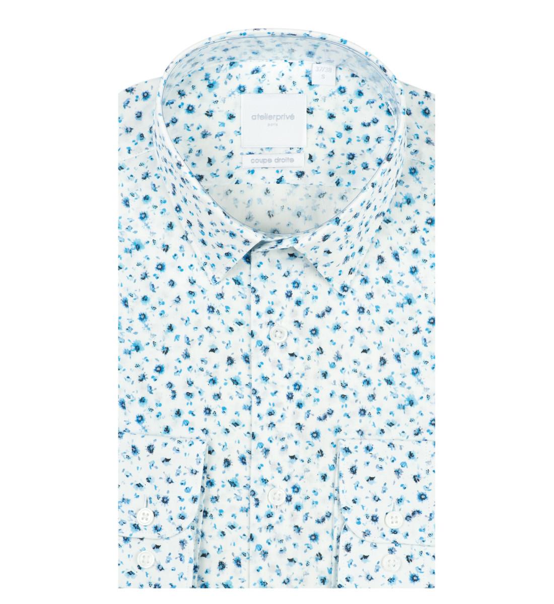 Chemise coupe droite SANTO CIEL
