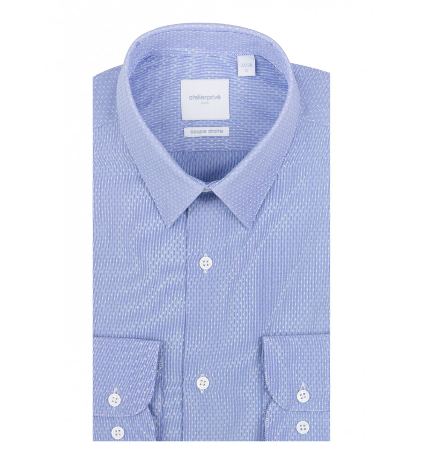 Chemise coupe droite Victor