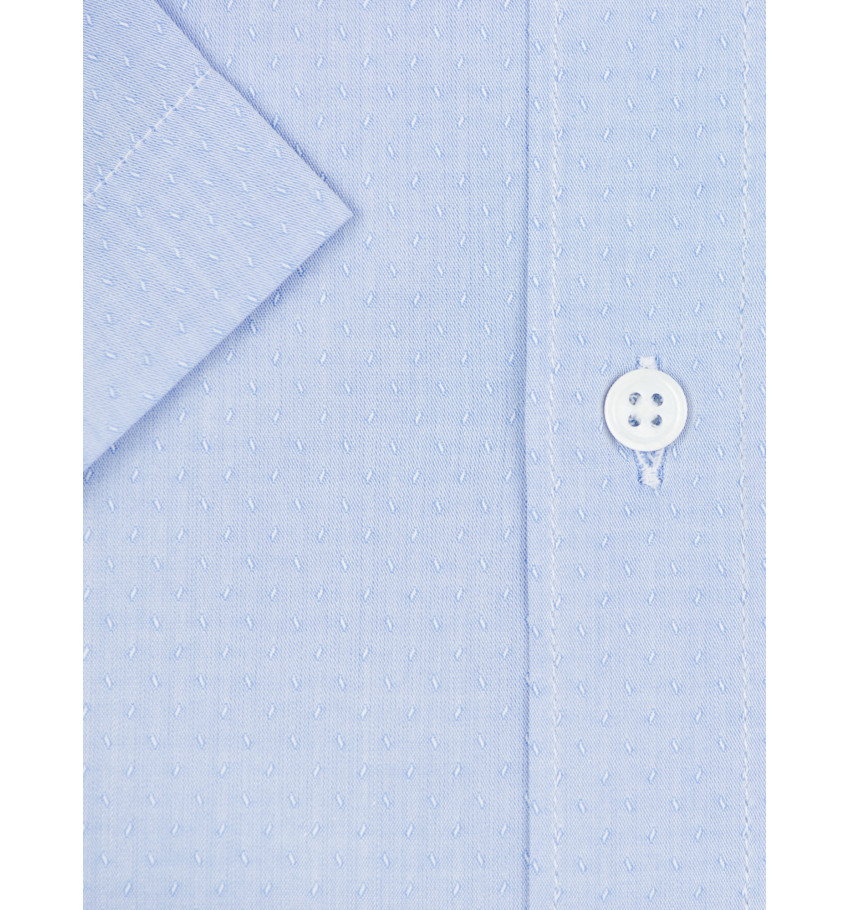 Chemise manches courte coupe droite VIDOBY