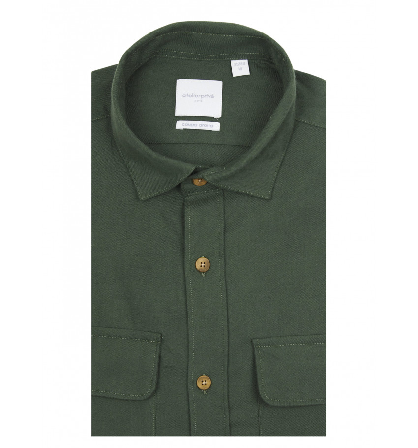 Chemise coupe droite AXEL