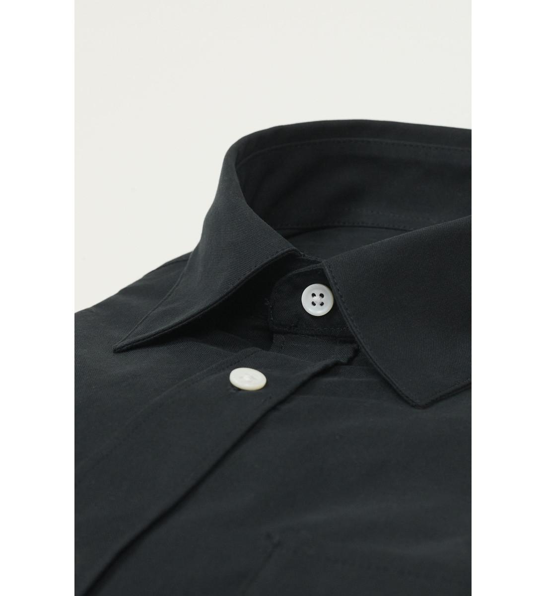 Chemise coupe droite ALDEN marine