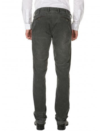 Pantalon en velours ANTHRACITE