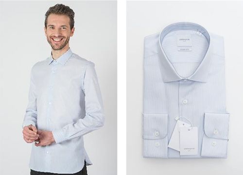 Chemise technique INDUO rayures graphiques